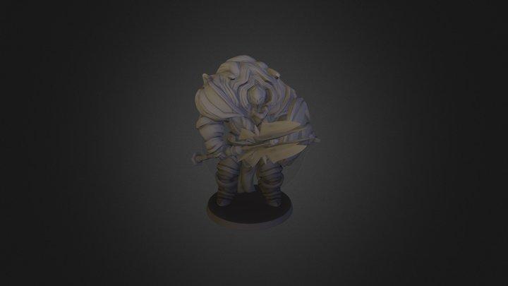 Chaos Knight 100k Polypaint 3D Model