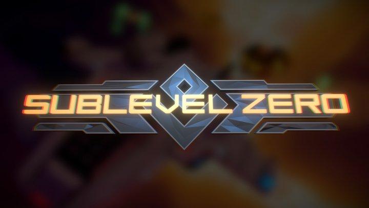 Sublevel Zero Logo 3D Model