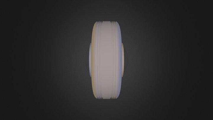 גלגל משופר נוי חדד 3D Model
