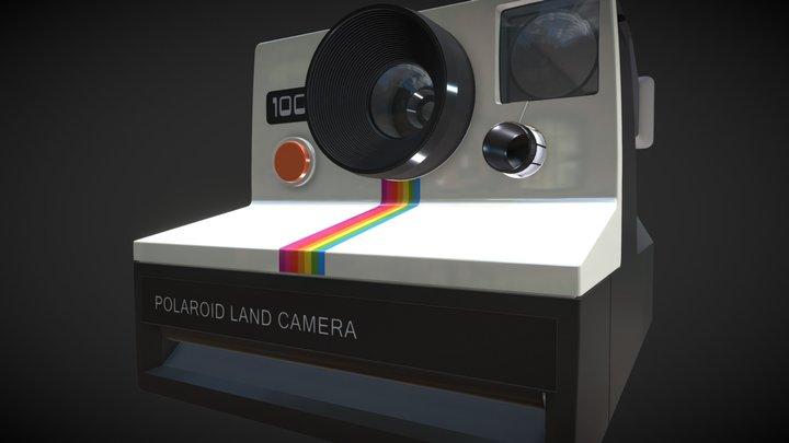 Polaroid 1000 Camera 3D Model