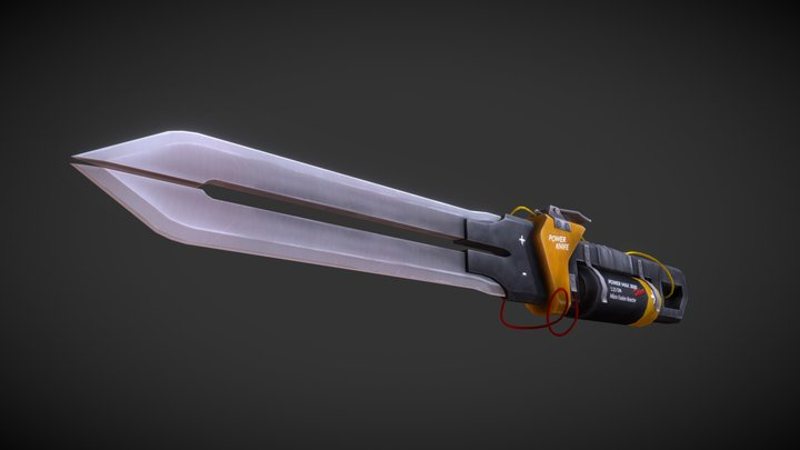 Power Knife 3D Model