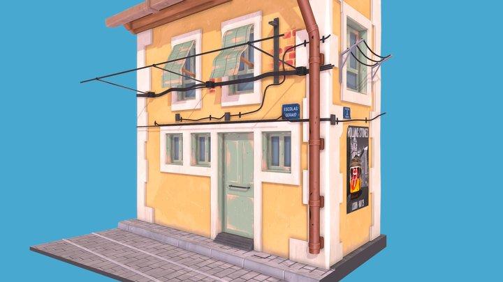 Lisboa casa 3D Model