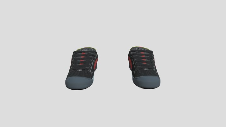Switch X Marrow Shoes 3D Model