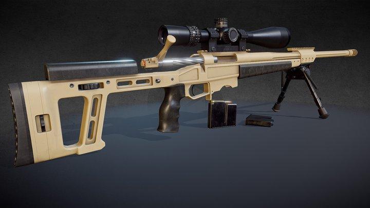 ORSIS T-5000 rifle 3D Model