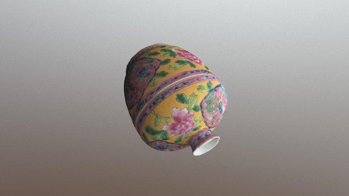 Peranakan Porcelain (LD) 3D Model