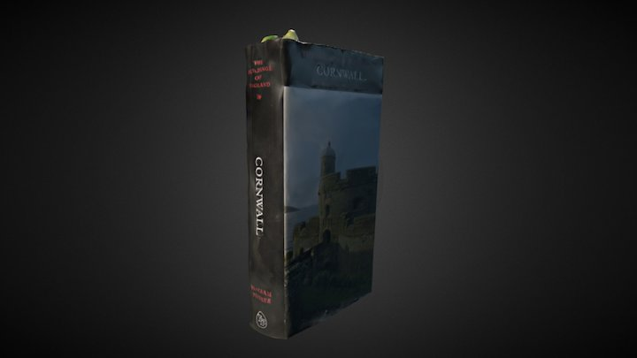 'Buildings of England' #3DScanBooks 3D Model