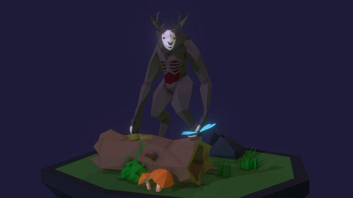 Wendigo 3D Model