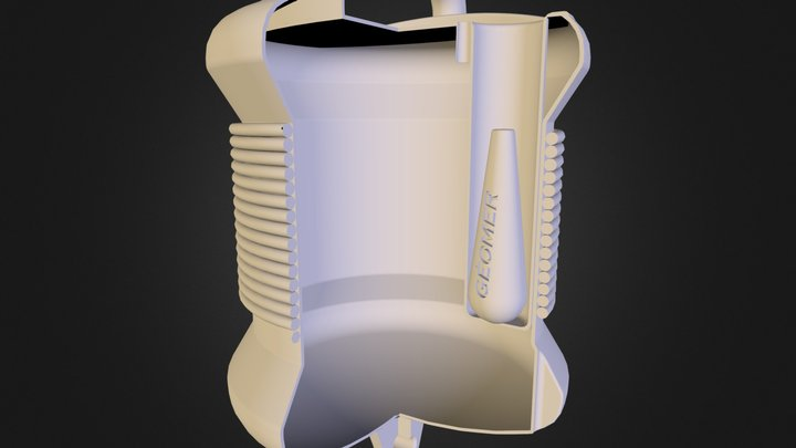 Balise 3D Model
