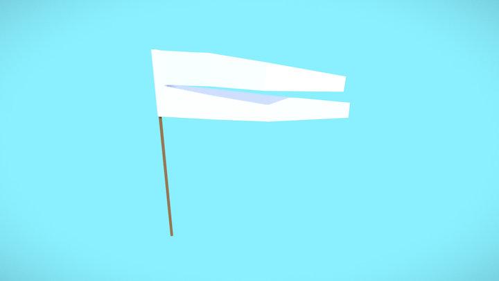 Flag 02 - Mythical Beasts Jousting Assets 3D Model
