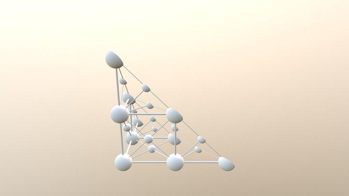 Unit Cell 111 3D Model