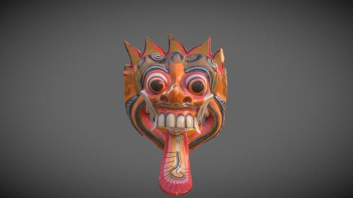 Thai Mask 3D Model