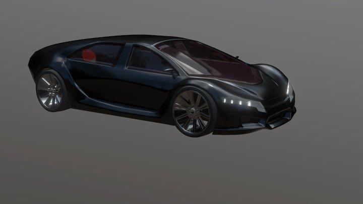 V4 Civic 3D Model