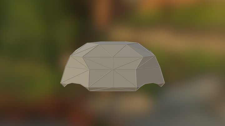 MakerBay Electric Vehicle Dome Frame 3D Model
