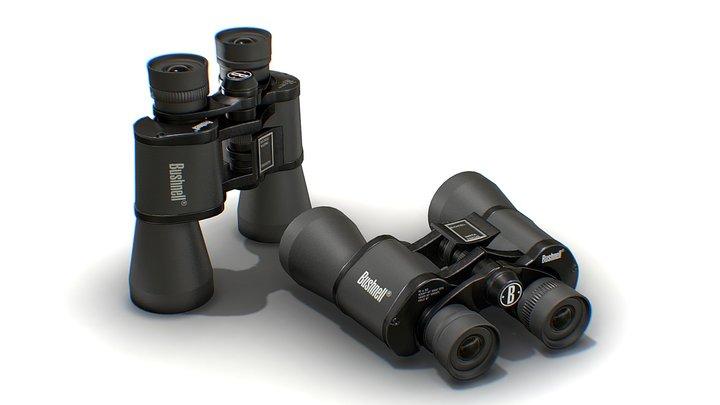 Binoculars 10 X 50 Bushnell Game Ready 3D Model