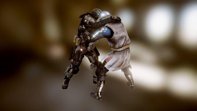 Armor Clash 3D Model