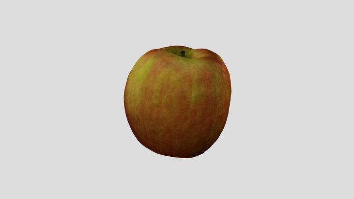 Apple scanned with Metashape 3D Model