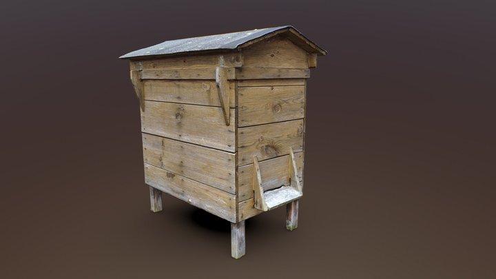 Beehive box 3D Model