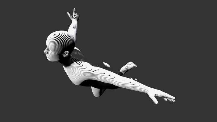 Parametric-Figure 038 3D Model