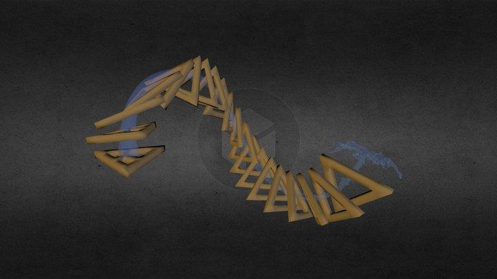 Triangle Spray 3D Model