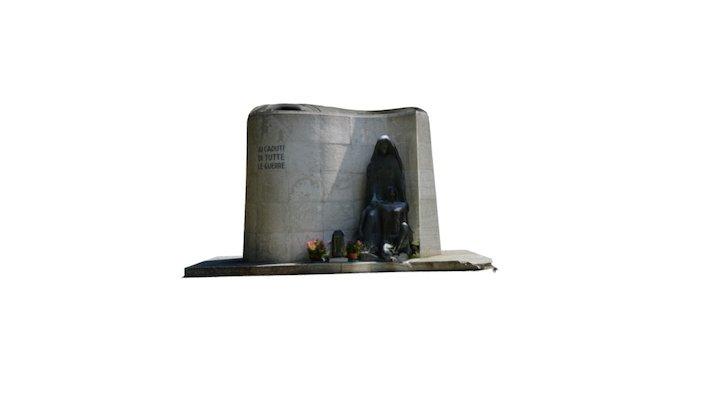 Monumento ai Caduti di Povo 3D Model