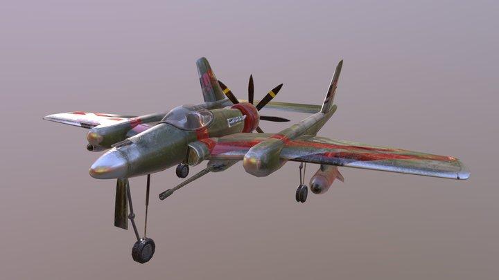 Plane fighter 3D Model