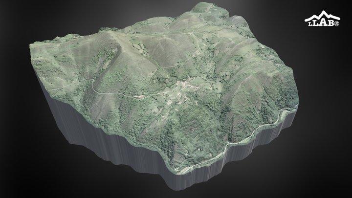Territorio de Vigaña perteneciente al S.XII 3D Model
