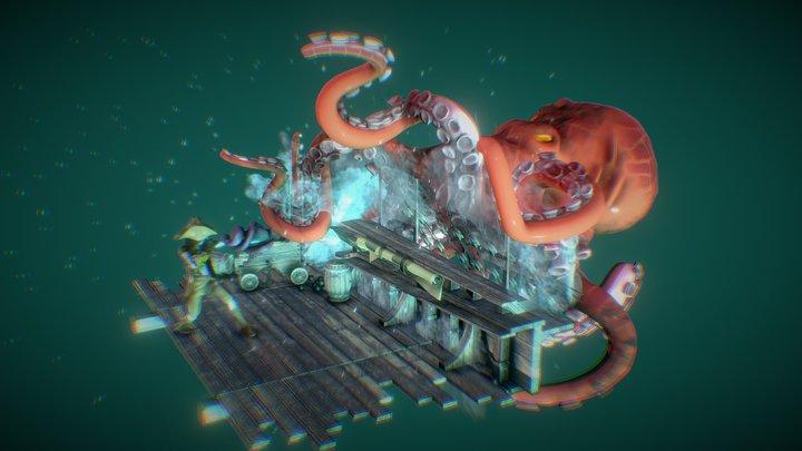 On the high seas 3D Model