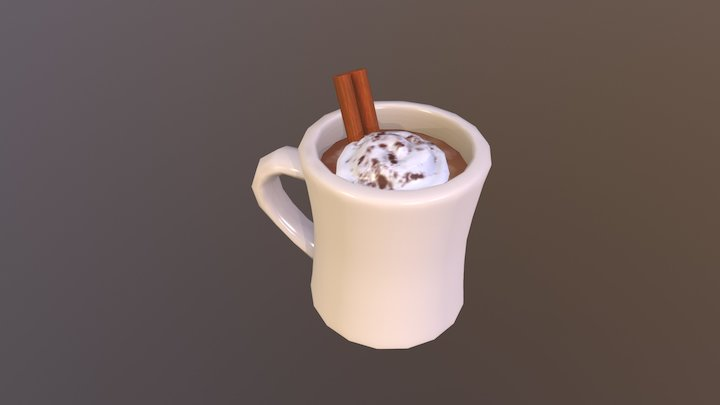 Hot Chocolate 3D Model