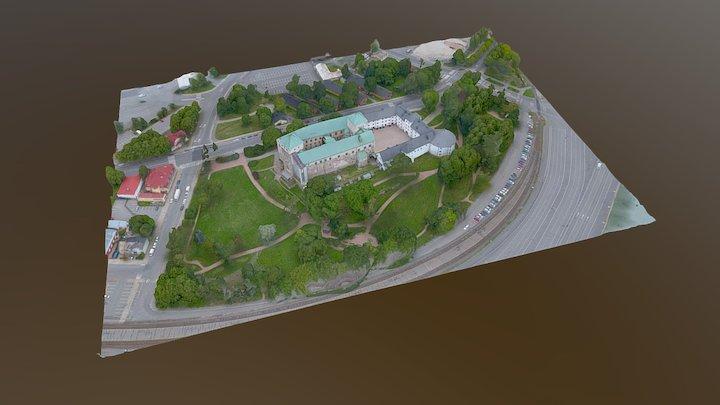 Turun linna 3D Model