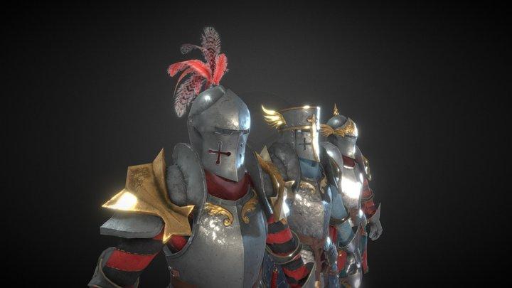 Knight 3 3D Model