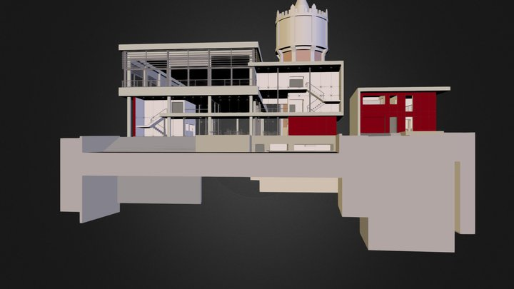 Thuin - Salle Polyvalente 11.kmz 3D Model