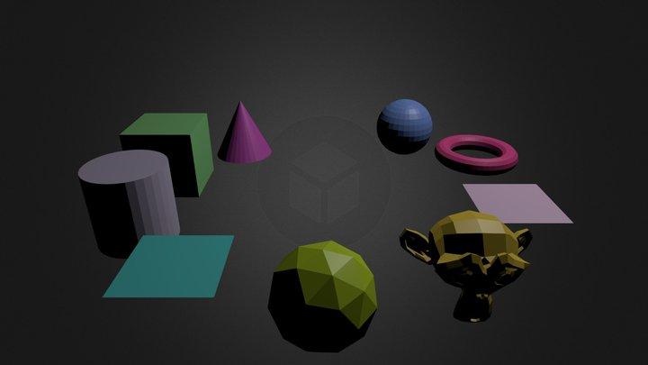 kamerafahrt-test1.blend 3D Model