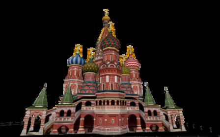 Saint Basil's Cathedral, Moscu 3D Model