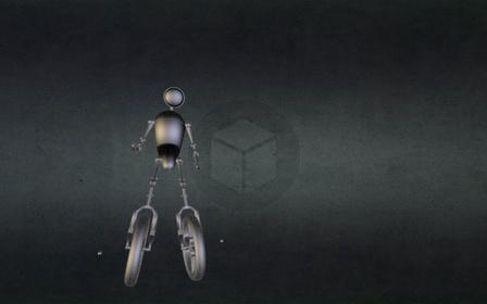 Bike Char.blend 3D Model