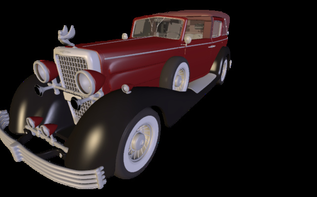 Cadillac 1933 3D Model