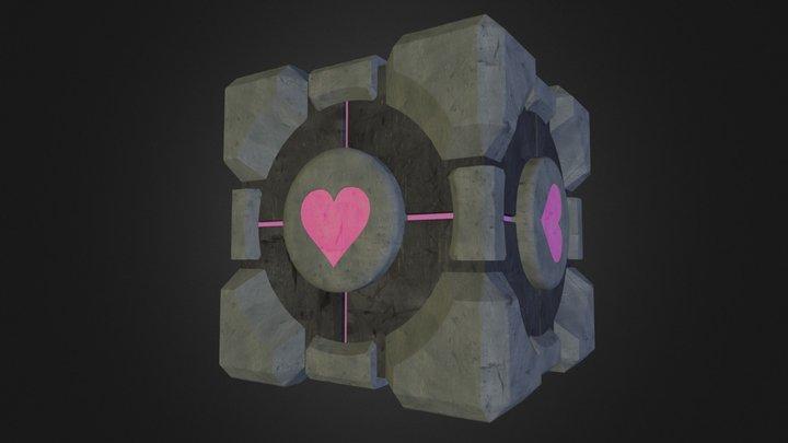 Companion Cube (Portal) 3D Model