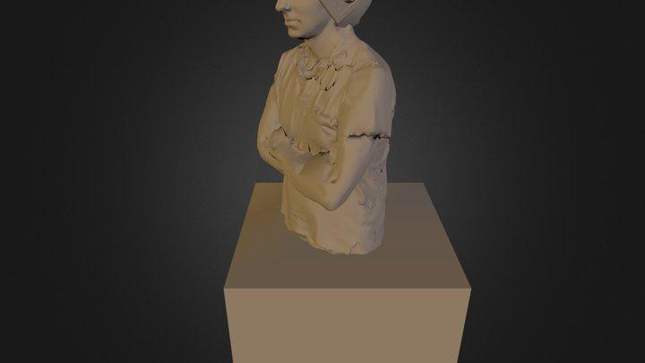cescostatua.3ds 3D Model