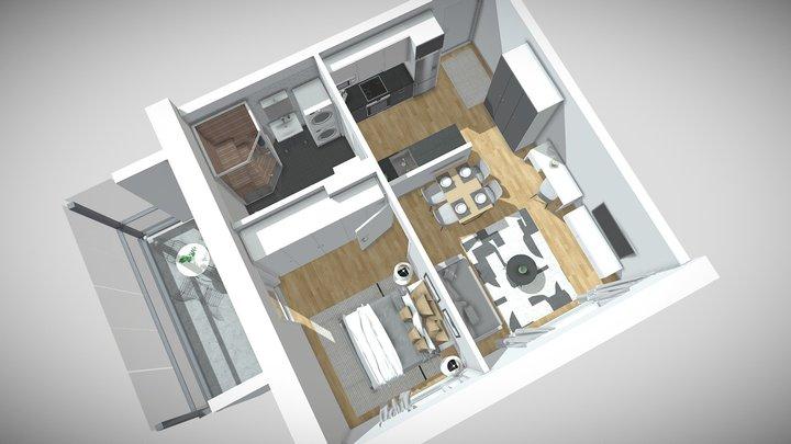 Sudenmarja A9 3D Model