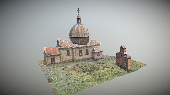 Greek Catholic Church of St.Mikołaj-Wyżłów 3D Model
