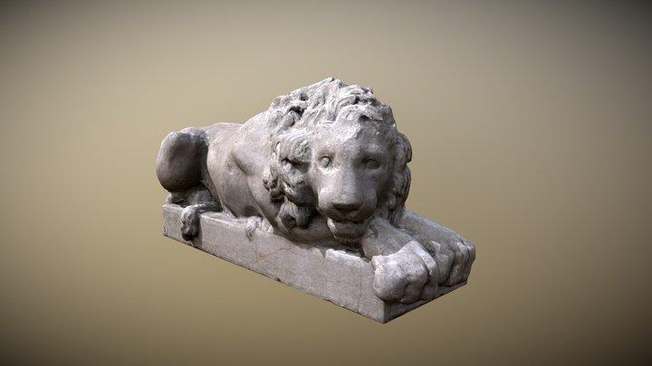 Lion from Padua 3D Model