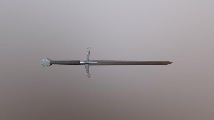 Claymore 3D Model