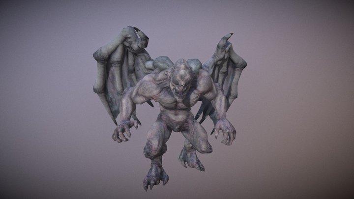 Gargoyle Pack PBR 3D Model