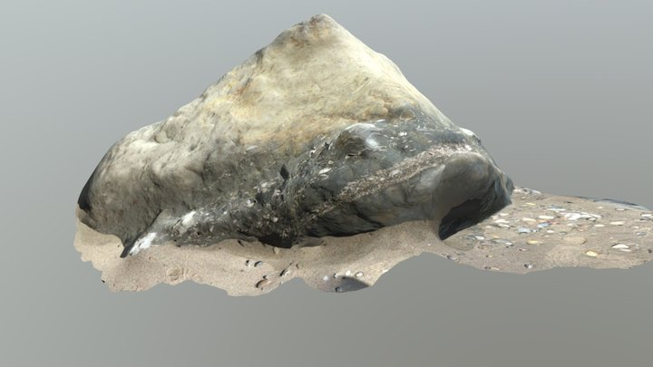 Purisima boulder 3D Model