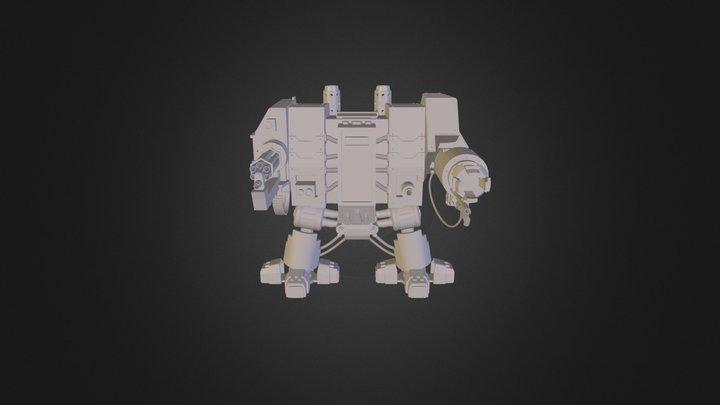 Dreadnought 3D Model