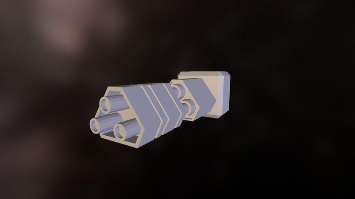 triangular_canon 3D Model
