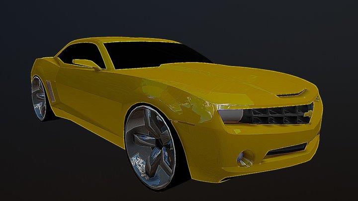 Chevrolet Camaro 2010 3D Model