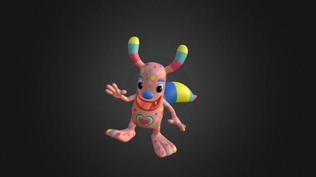 Blip 3D Model
