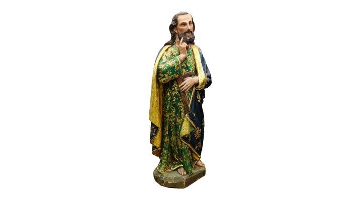 St. Thomas Sculpture - Lowe Art Museum 3D Model