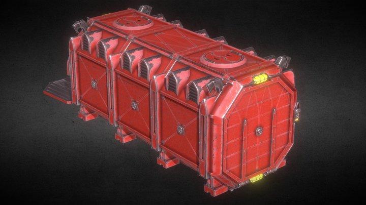 Munitorum Armoured Container 3D Model