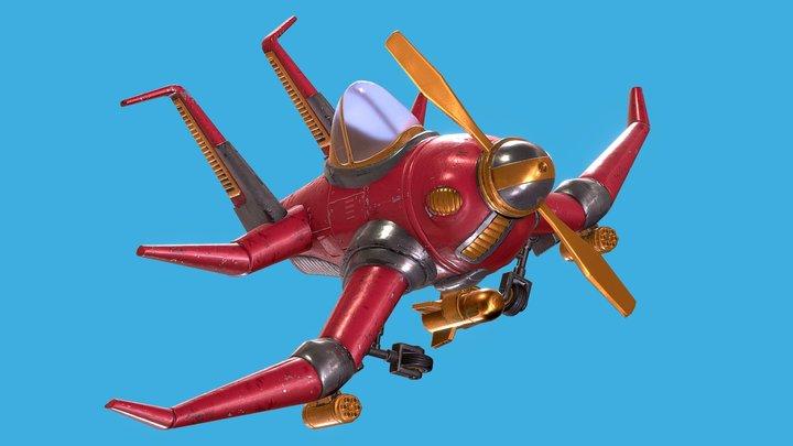 Aerosmith / Little Bomber 3D Model
